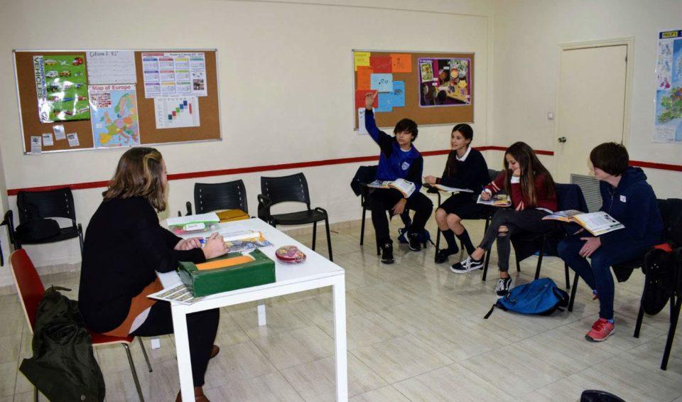 Clases de inglés para jóvenes de 13 a 15 años