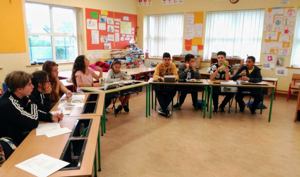 Clases de inglés para jóvenes de 15 a 17 años