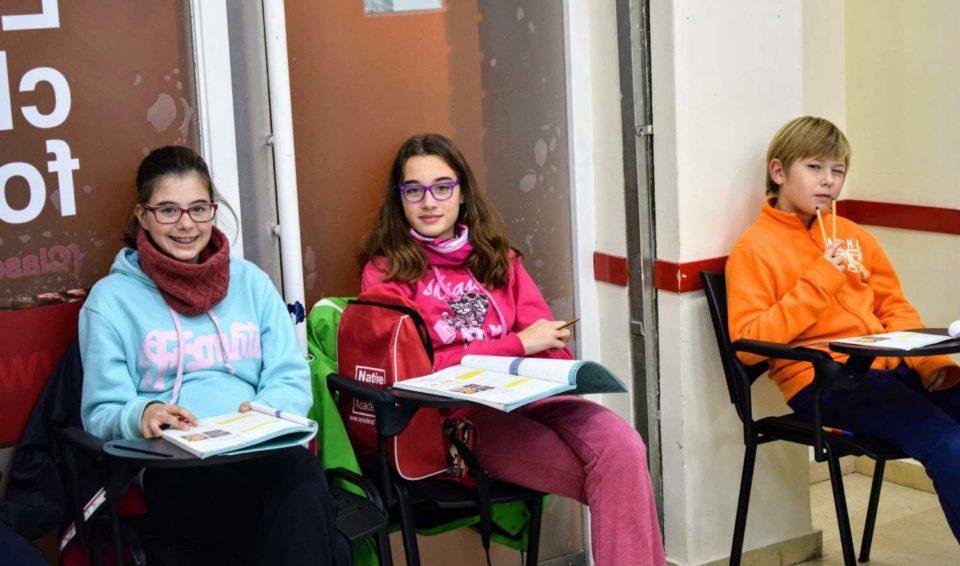 Clases de inglés para jóvenes de 11 a 12 años
