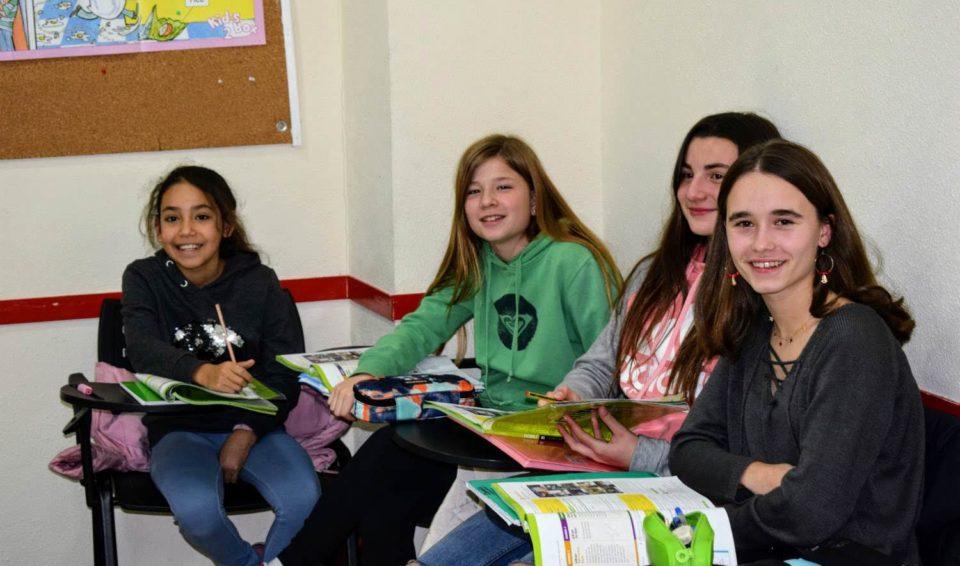 clases de inglés para jóvenes de 12 a 13 años