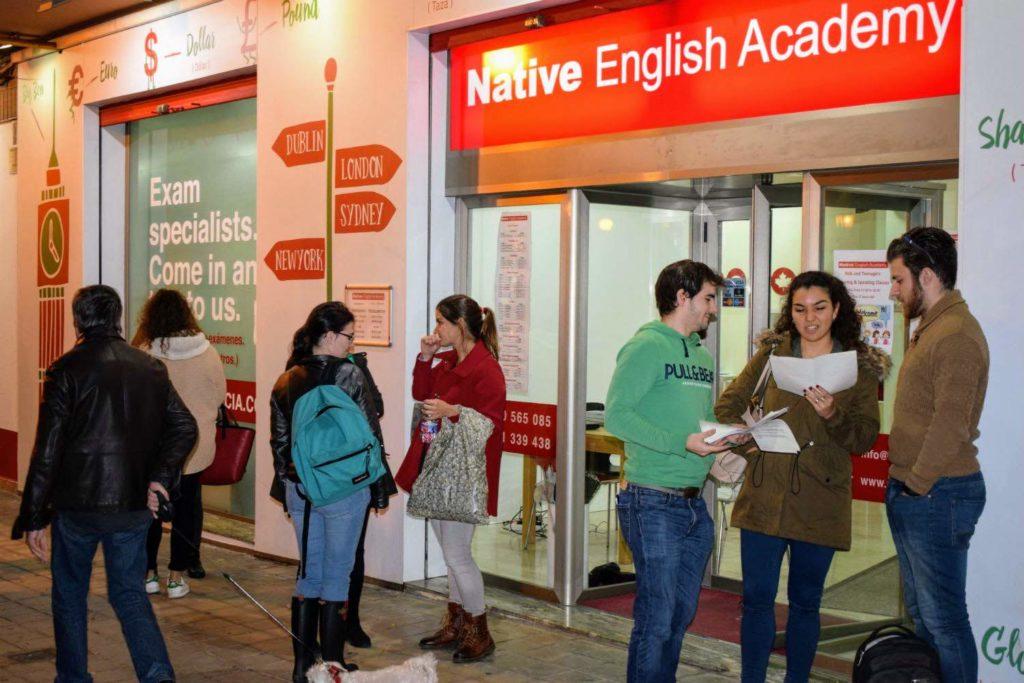cursos de inglés en Valencia foto