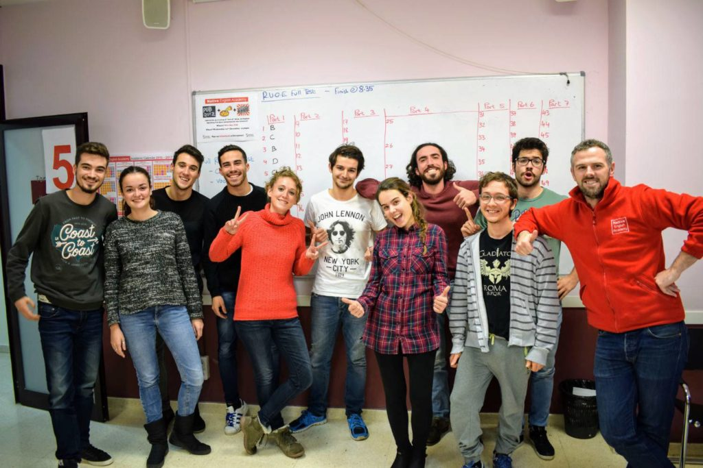 cursos intensivos de inglés en Valencia foto