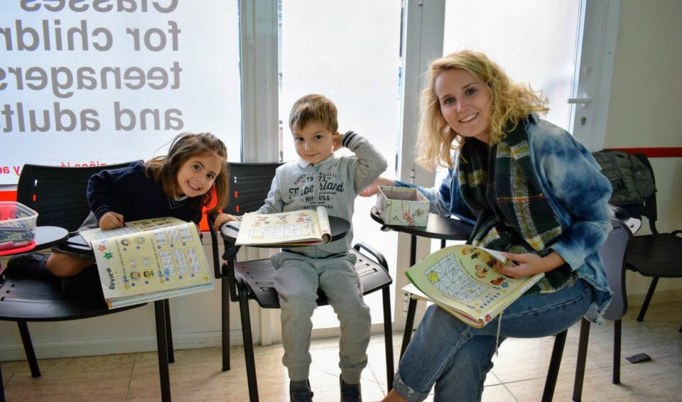 English classes for children from 5 to 6 years old