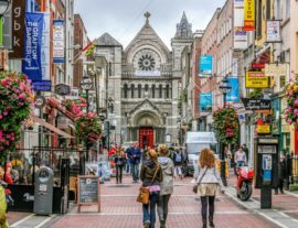 Dublin to learn English