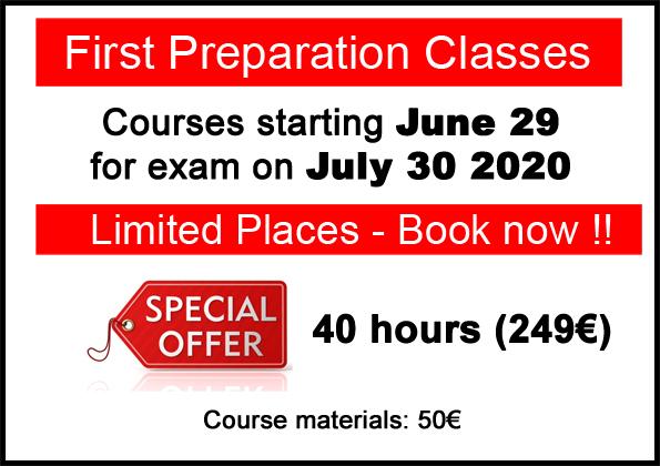 curso de preparacion para el Cambridge first certificate