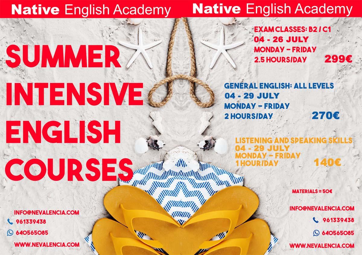 cursos de verano en inglés