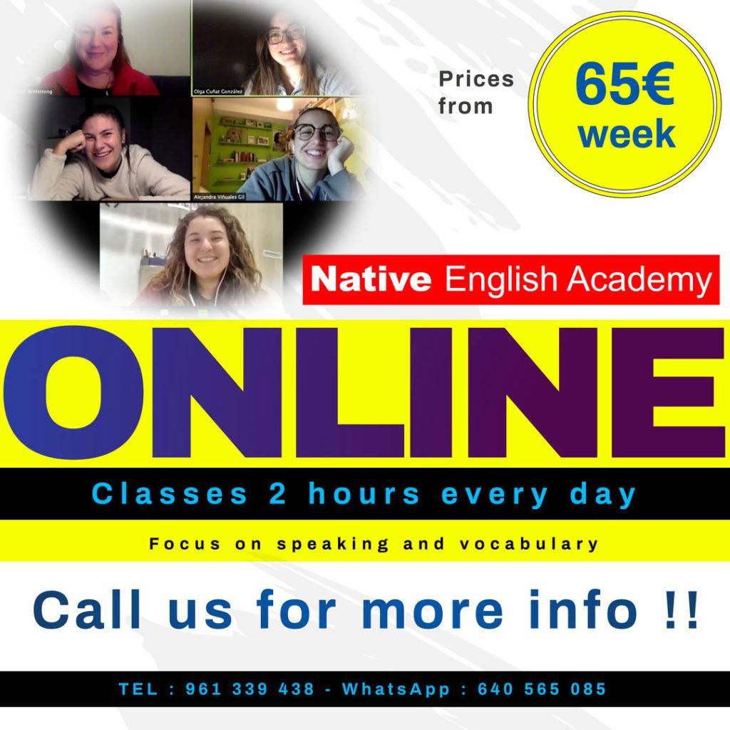 online inglés intensivos