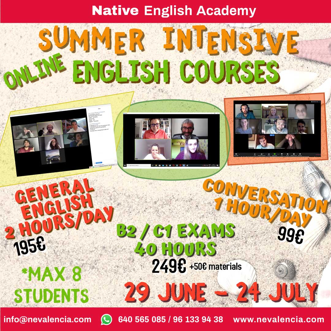 cursos de verano de inglés