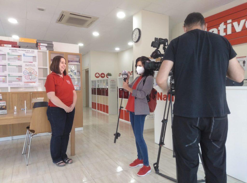 Liz TV interview