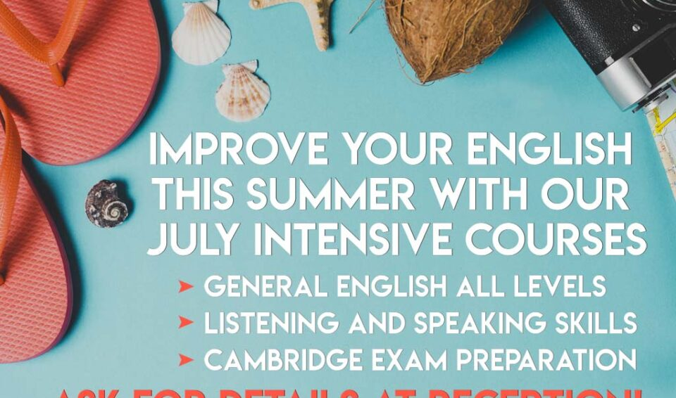 Summer courses in English