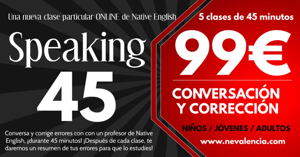 Speaking 45 Conversación